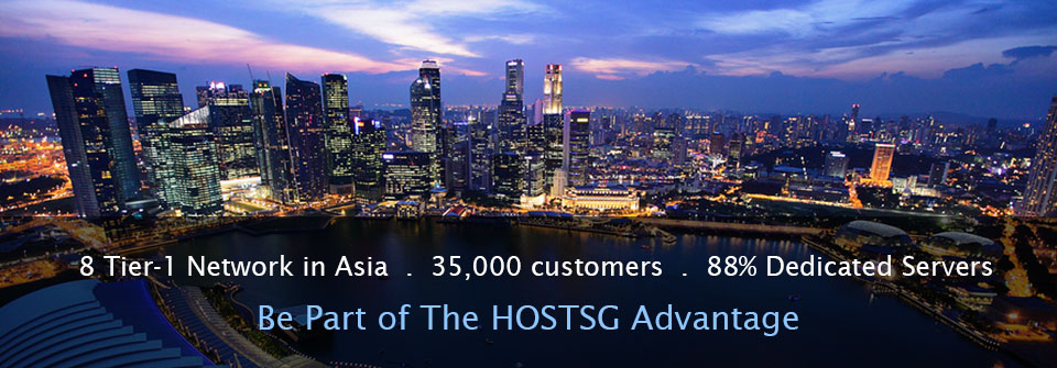 Singapore Web Hosting, Dedicated Server, Fast Asia Network
